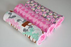 Burp Cloths $21