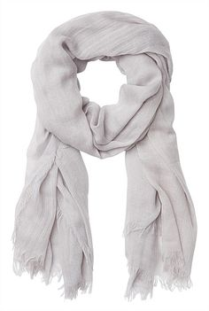 Textural Soft Scarf - Grey or Pink