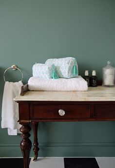 A Teal Bathroom With A Taste Of The Kasbah Get The Look In 2020 Teal Bathroom Fluffy White Towels White Floors