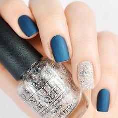 OPI - Unfor-greta-bly Blue (with Matte Top Coat) - Muppets World Tour