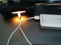 Charge Ps4 control with power bank