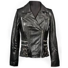 Flaming Skull New Rock Jacket