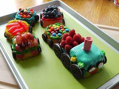 No Bake Cho Cho train birthday Cake - My baby boy turns TWO!