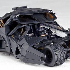 Batman Dark Knight SCI-FI Revoltech Series No.043 Batmobile PVC Figure Toy