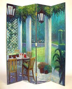 Wayborn Furniture 2270 Four Panel The Patio | Lighting