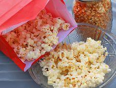Homemade microwave popcorn (no nasty chemicals!!)