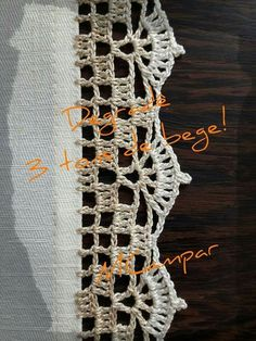 Super Crochet Patterns Stitches Granny S - Diy Crafts - Marecipe Crochet Edging Patterns, Crochet Lace Edging, Crochet Borders, Crochet Squares, Hand Crochet, Crochet Stitches, Free Crochet, Stitch Patterns, Granny Squares