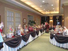 Eta Eta, Seton Hall silent auction tables