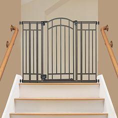 Summer Infant Multi-Use Deco Extra Tall Walk-Thru Gate, Bronze | Shopping World Super Store List Price: $74.99 Discount: $18.47 Sale Price: $56.52
