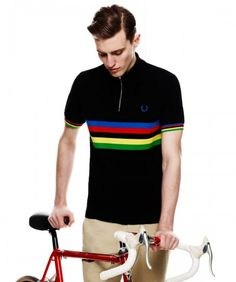 This Fred Perry Cycling collection is an  outstanding mix of classic and modern.