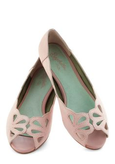 Know What I Mean Flat in Pink, #ModCloth