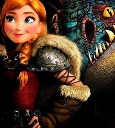Seriously when I watch httyd 2 I imagine Anna as Astrid and life just gets better.