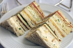 layered sandwiches