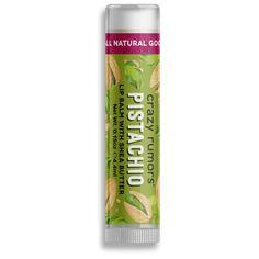 Balzám na rty Pistachio Natural Lip Balm, Olive Fruit, Beauty Shop, Natural Flavors, Jojoba Oil, Seed Oil, Pistachio, Shea Butter, The Balm