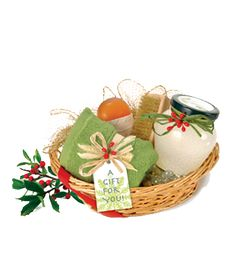 #DIY Sugar Scrub Homemade Spa Gift Basket  Have fun creating your own signature body scrub by experimenting with various scents from essential oils like grapefruit, lavender or peppermint, found in specialty markets or craft stores.