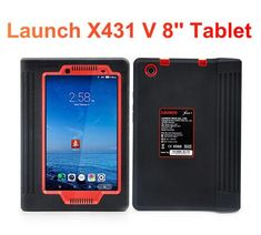 "Highlights of Launch X431 V 8"": US$799 - New Launch X431 V 8inch Tablet Wifi/Bluetooth Full System Diagnostic Tool Launch Obd2 Scanner 2 Years Free Update 1. Completely replace X431 V 7inch and with bigger screen. 2. Support multi-languages: English, German, Japanese, Russian, French, Korea, Arabic, Spanish & Italian 3. Support communicate with vehicle via Wifi and Bluetooth, Bluetooth distance: 10M(Without Obstacle)"