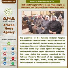 ANA | News In Pictures: 23.01.2016  #ANA #News #Rohingya #UN #Refugees #Burma #Myanmar #Arakan #Agency #English #humanitarian #NGO #EndRohingyaCrisis #Media #RohingyaMedia #support #NewsInPictures #23012016 #23Jan2016 #Films #drones #movies #cinema #Documentary #UNHCR #USA #politics #SaveRohingya #Malaysia #India #KSA #SaudiArabia #Top #InstaNews #CNN #BBC #ABC #Aljazeera