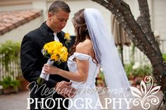 """""""first look"""" -- love when the grooms look down like this... gets me every time, sniffle!"""