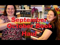 September/October 2015 Book Haul & Unboxing