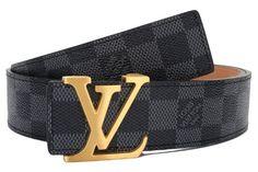 53b3b3cb9329 Yves Saint Laurent initials Damier Designer Men s Belt