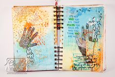Faber-Castell Design Memory Craft products are fabulous for most any project and work well to create colorful art journals with minimal effort.