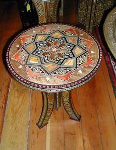 $118 CAD Night Star mosaic table
