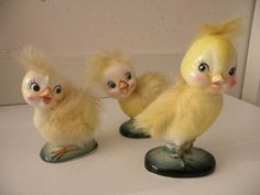 vintage easter chicks......I need these!!!!