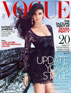 Diana Penty by Luis Monteiro for Vogue India July 2012
