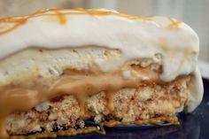 Silvestrovská bomba * nepečený banánovo - karamelový cake