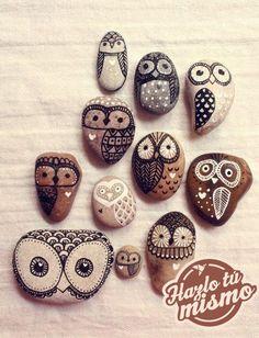 Para decorar, para obsequiar, para el jardín... ¡Nos encanta decorar piedras!