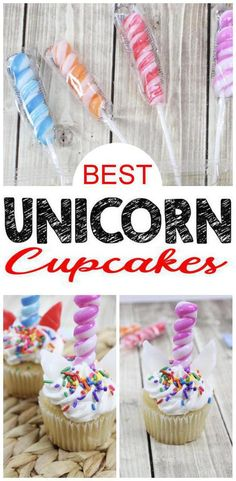 Easy Unicorn Cupcake Tutorial With Edible Horn Cupcake Toppers Unicorn Baby Shower, Shower Baby, Unicorn Party, Baby Shower Themes, Bridal Shower, Daniel Tiger Birthday, Party Themes, Party Ideas, Cupcake Tutorial