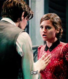 Clara and Eleven. Love these two.