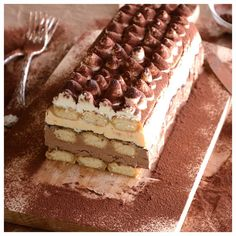 Candy Recipes, Dessert Recipes, Biscotti Cookies, Party Desserts, Tiramisu, Sweet Home, Frozen, Ice Cream, Ethnic Recipes