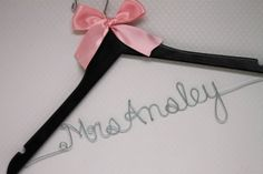 Sale Personalized Wedding Dress Hanger Customized with any name for Bride, Bridesmaid, Mother of Bride, Bridal Party