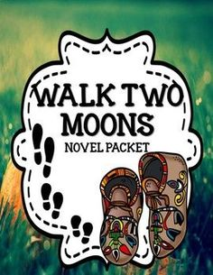Walk Two Moons by Sharon Creech - Comprehension & Vocabulary Unit Plot Activities, Character Activities, Feelings Activities, Pre Reading Activities, Vocabulary Activities, Summary Writing, Writing Strategies, Writing Resources, Walk Two Moons