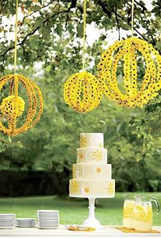 suspended floral orbs // hanging wedding centerpieces