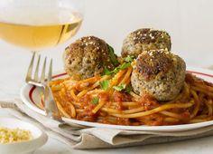 Spaghetti con le polpette vegane – Vegan meatballs