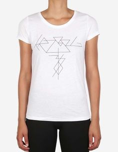 Depot2 Berlin - W' Thinline T-Shirt white black