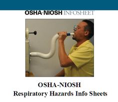 The Occupational Safety and Health Administration and the National Institute for Occupational Safety and Health (NIOSH) Have developed two guidance documents, one for workers and one for employers, which describe the use of spirometry testing to help reduce and prevent worker exposure to respiratory hazards. http://firstchoiceind.net/blog/?p=8995
