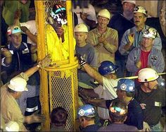 Here, the final miner is brought up from the Quecreek Mine on July 28 in ...  www2.ljworld.com