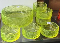 Nanny Still - Grapponia Vaseline Glass, Be Still, Finland, Scandinavian, Glass Art, Retro Vintage, Nostalgia, Perfume Bottles, Ceramics