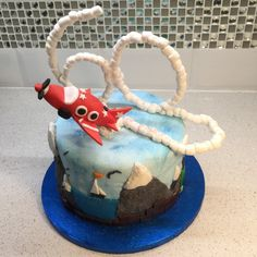 Up, up and away! Cake Maiden