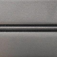 Conestoga Wood Specialties: Metal Fusion. Polished Patina Silver Nickel on Paint Grade Hard Maple
