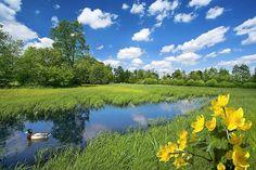 Najpiękniejsze miejsca w Polsce na wiosnę i majówkę
