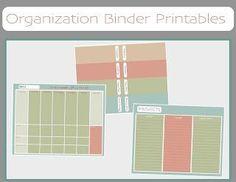 Free Organization Printable Ideas