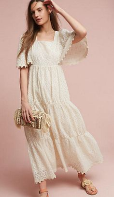 Tiered Maxi Dress | Anthropologie