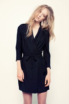 Aritzia wrap dress -- simple and chic! Sale price - $82.50; Original 175USD