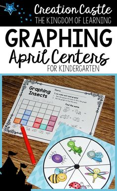 Kindergarten students LOVE this graphing center!