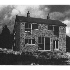 ALISON AND PETER SMITHSON  ONE-FAMILY HOUSE IN SUGDEN, SUSSEX, 1956