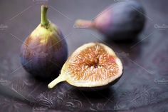 Purple Figs. Food & Drink Photos